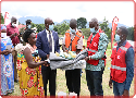 Uganda Red Cross Society delivers support to Kasese floods affected Victims.