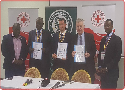 Uganda Red Cross signs MOU with Everton FC
