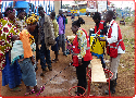 Uganda Red Cross Responds to DRC refugee influx amidst cholera outbreak.