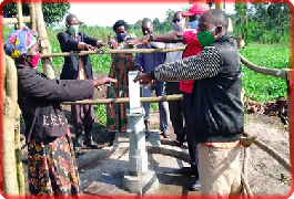 Uganda Red Cross Society Constructs Boreholes in Kyangwali Refugee Settlement