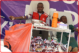 Red Cross employs new Blood Donor Recruitment Strategy to curb blood shortage in the country