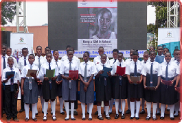 Uganda Red Cross launches campaign to support a girl child stay in school