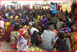 Uganda Red Cross supports refugees from Democratic Republic of Congo