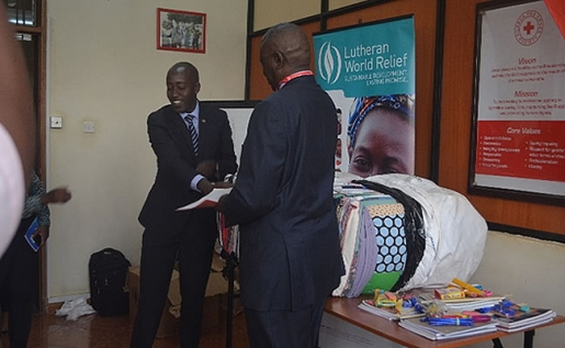 Lutheran World Relief Donates Items Worth 800,000,000 Million to Uganda Red Cross Society